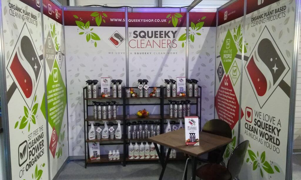 Squeeky Cleaners Spring Fair Stall