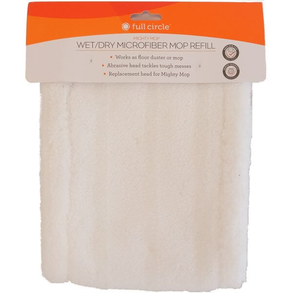 mighty mop microfibre refill front