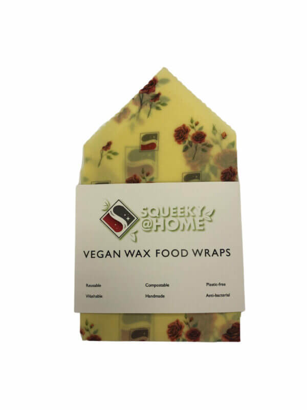 Squeeky vegan wax food wraps