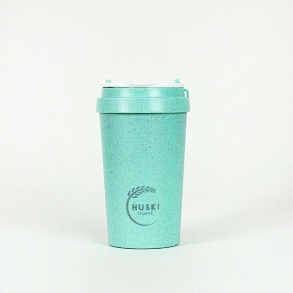 Rice Husk Travel Cup Lagoon