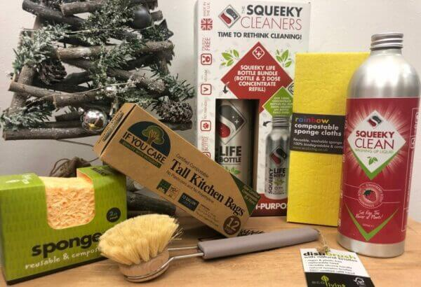 Squeeky products and xmas tree