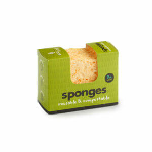 Eco Living Compostable Wavy Sponge