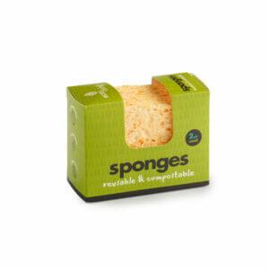 Eco Living Compostable Wavy Sponge