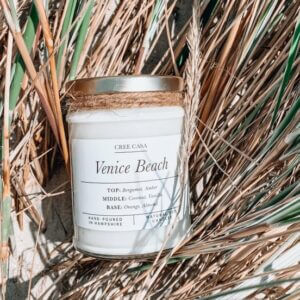 Venice Beach Natural Soy Wax Candle
