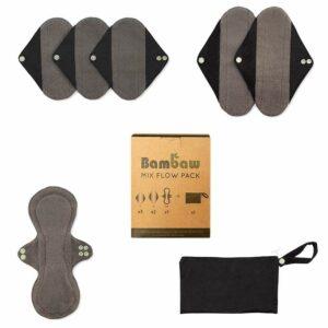 Reusable sanitary pads mixed flow pack