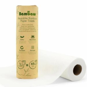Reusable bamboo kitchen roll