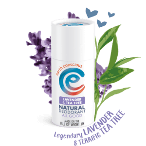 Earth Conscious Lavender and Tee Tree Deodorant
