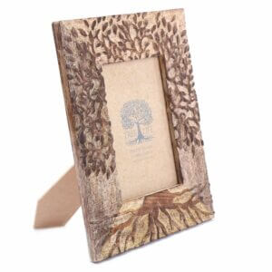 Tree of Life wooden photo frame
