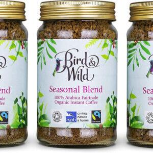 Bird and Wild Seasonal Blend Instant Jar 100g