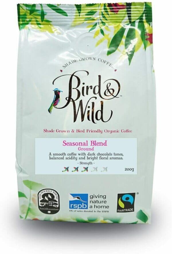 Bird and Wild Seasonal Medium Blend Ground 200g