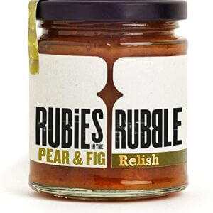 Pear and Fig Relish