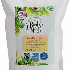 Bird and Wild Decaf Ground Coffee 200g