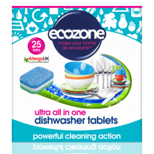 Ecozone 25 ultra all in one dishwasher tablets