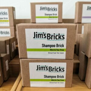 Mint and Tea Tree Shampoo Bricks