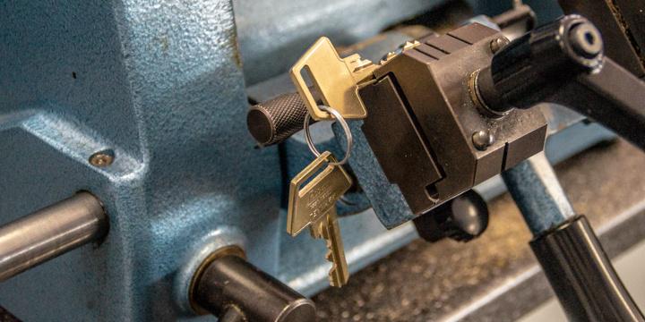 Nøgle maskine
