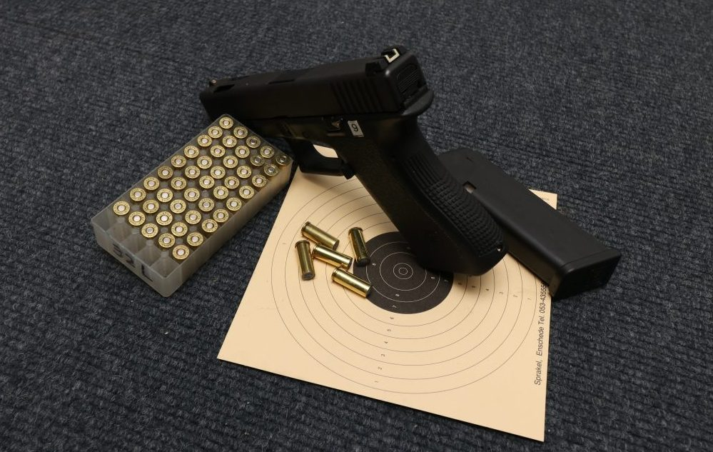 SSVP pistool gym staand op kaart