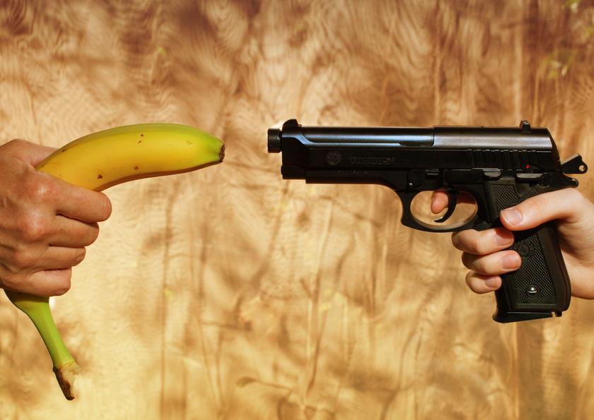 SSVP afb banaan vs pistool