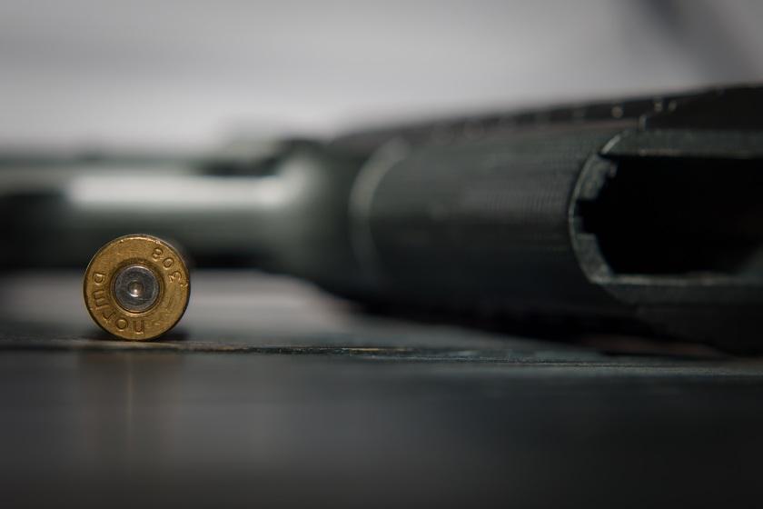 SSVP afb pistool met 1 kogel