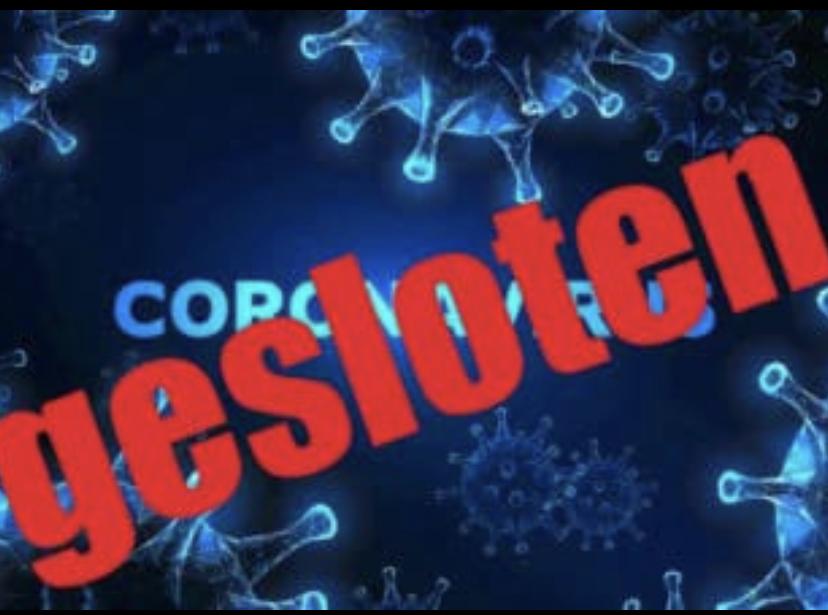Gesloten Corona Virus