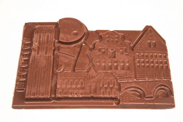 Chocolade reep Stadsduif Mechelen