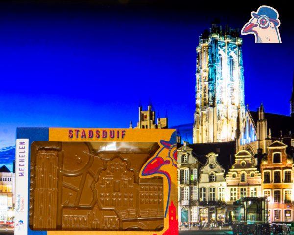 Chocolade Stradsduif Stad Mechelen