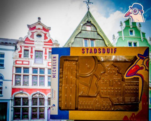 De chocolade versie van de Stad Mechelen