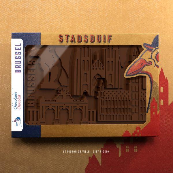 Brussel Chocolade Stadsduif