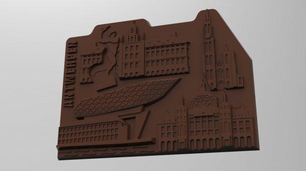 Render chocolade Stadsduif.be Antwerpen
