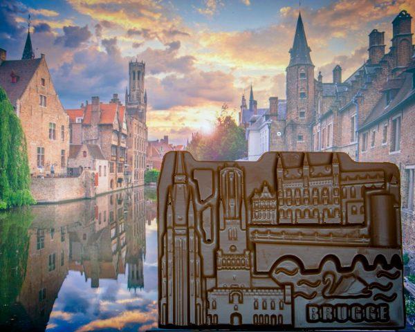 Chocolade reep Stadsduif Brugge