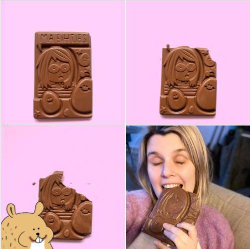 Niet Nu Laura Chocolade