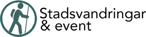 Stadsvandringar & event Logotyp