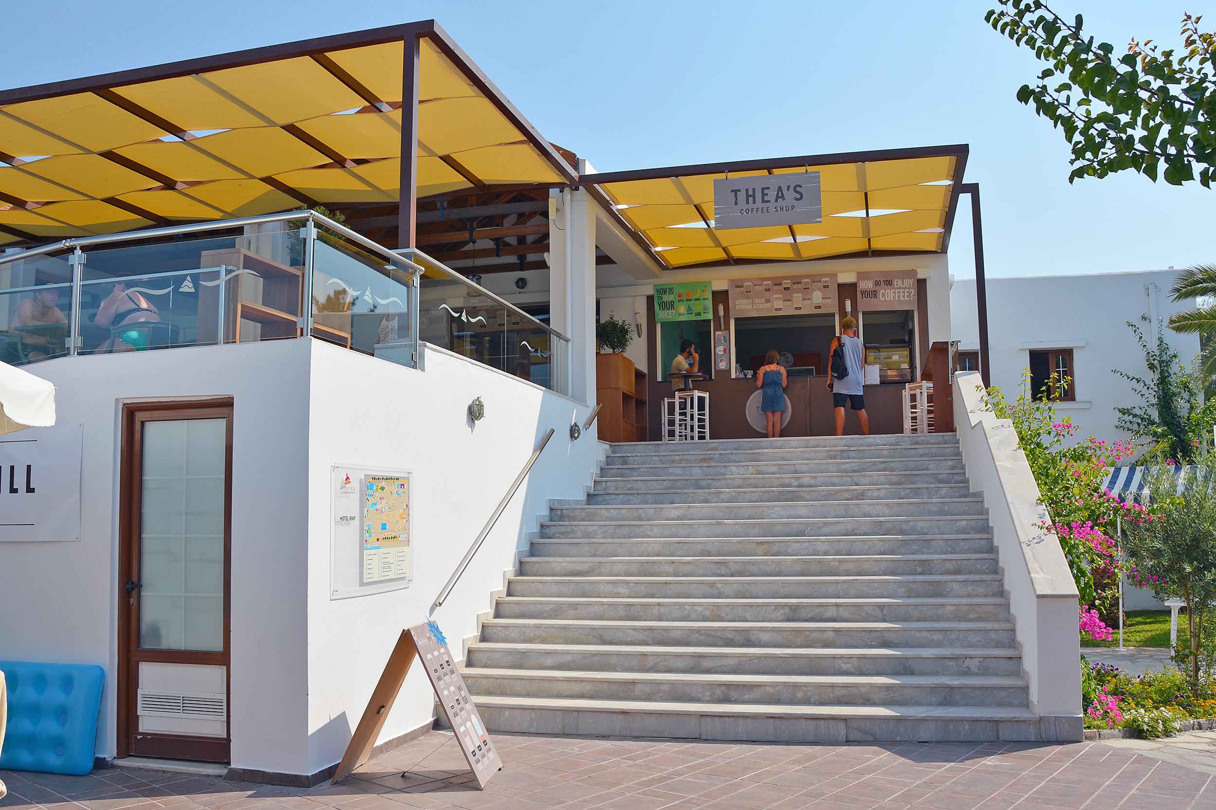 Theas coffee shop kos
