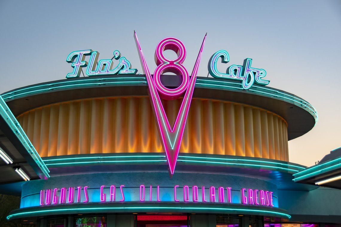 Flo's Cafe, Cars Land, California Adventure
