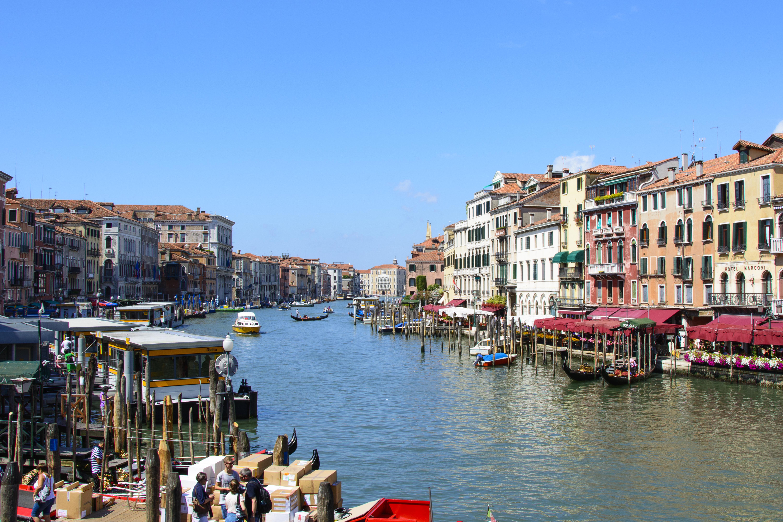 canal grande venedig
