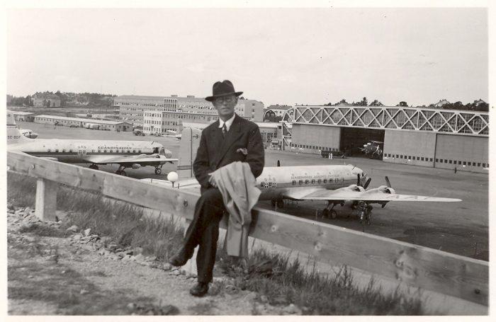 bromma flygplats 1948