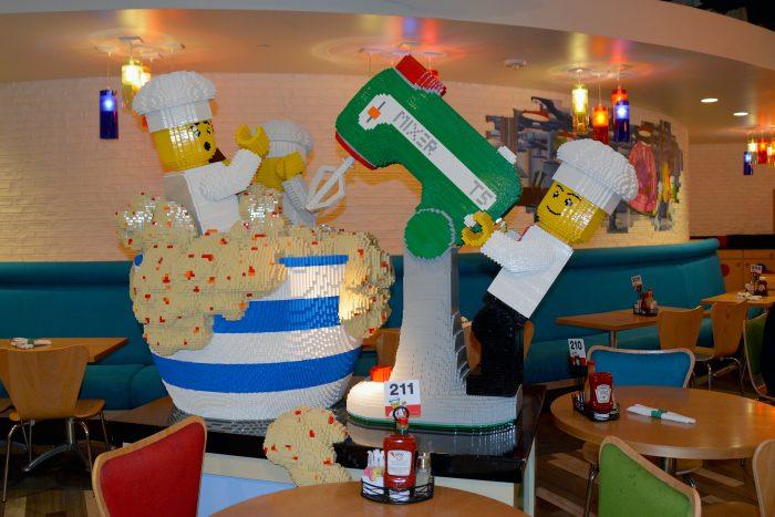 legoland hotel carlsbad bricks restaurant
