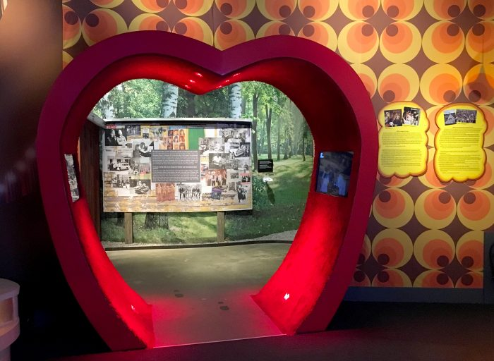 hjärta abba the museum