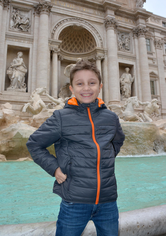 vår helg i Rom fontana di trevi