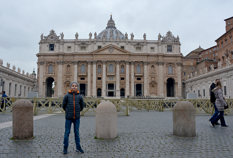 rom vatikanen peterskyrkan