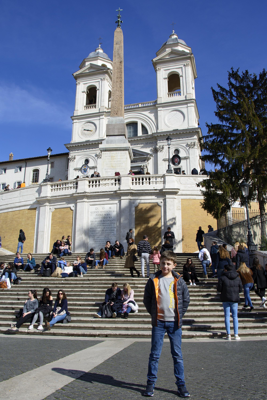 Spanska Trappan Vår helg i Rom