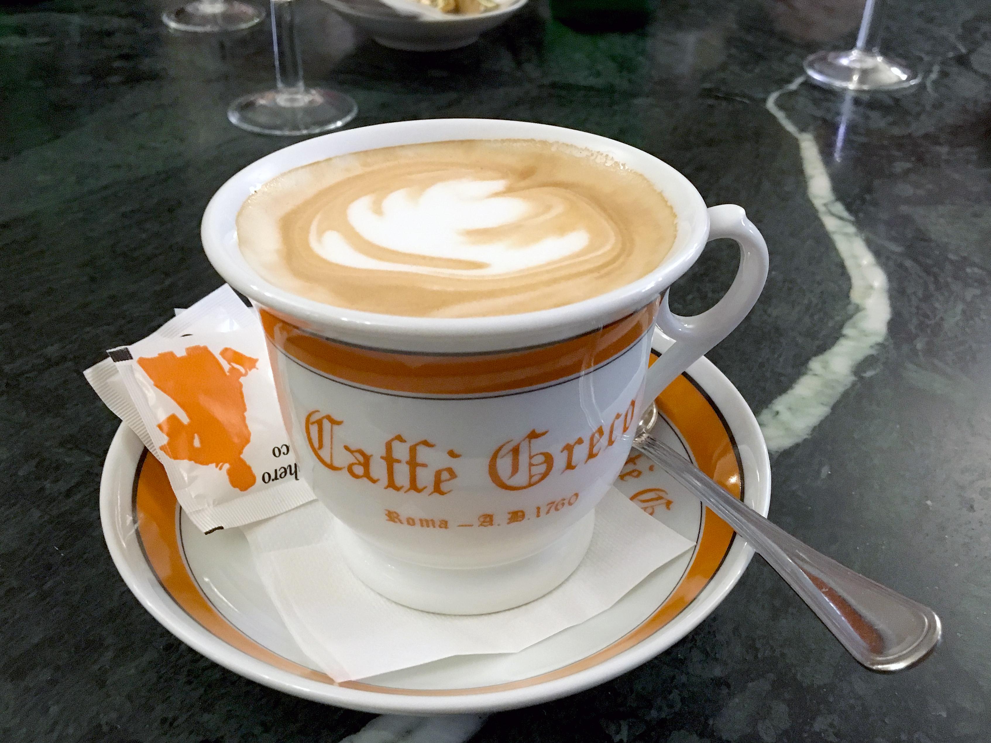Antico Caffè Greco cappucino