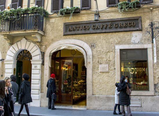 antico caffè greco rom