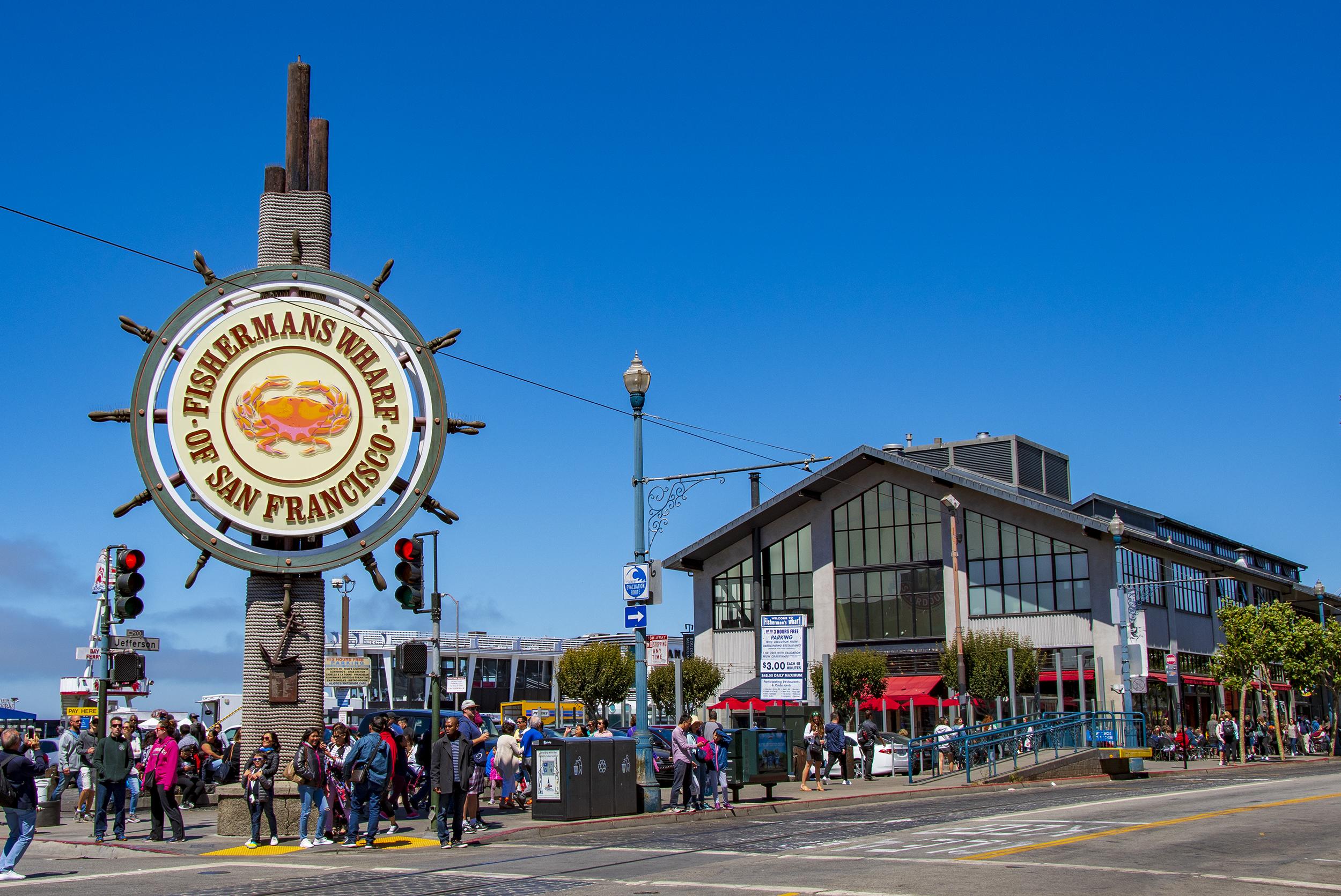 fishermans wharf två härliga veckor i Kalifornien