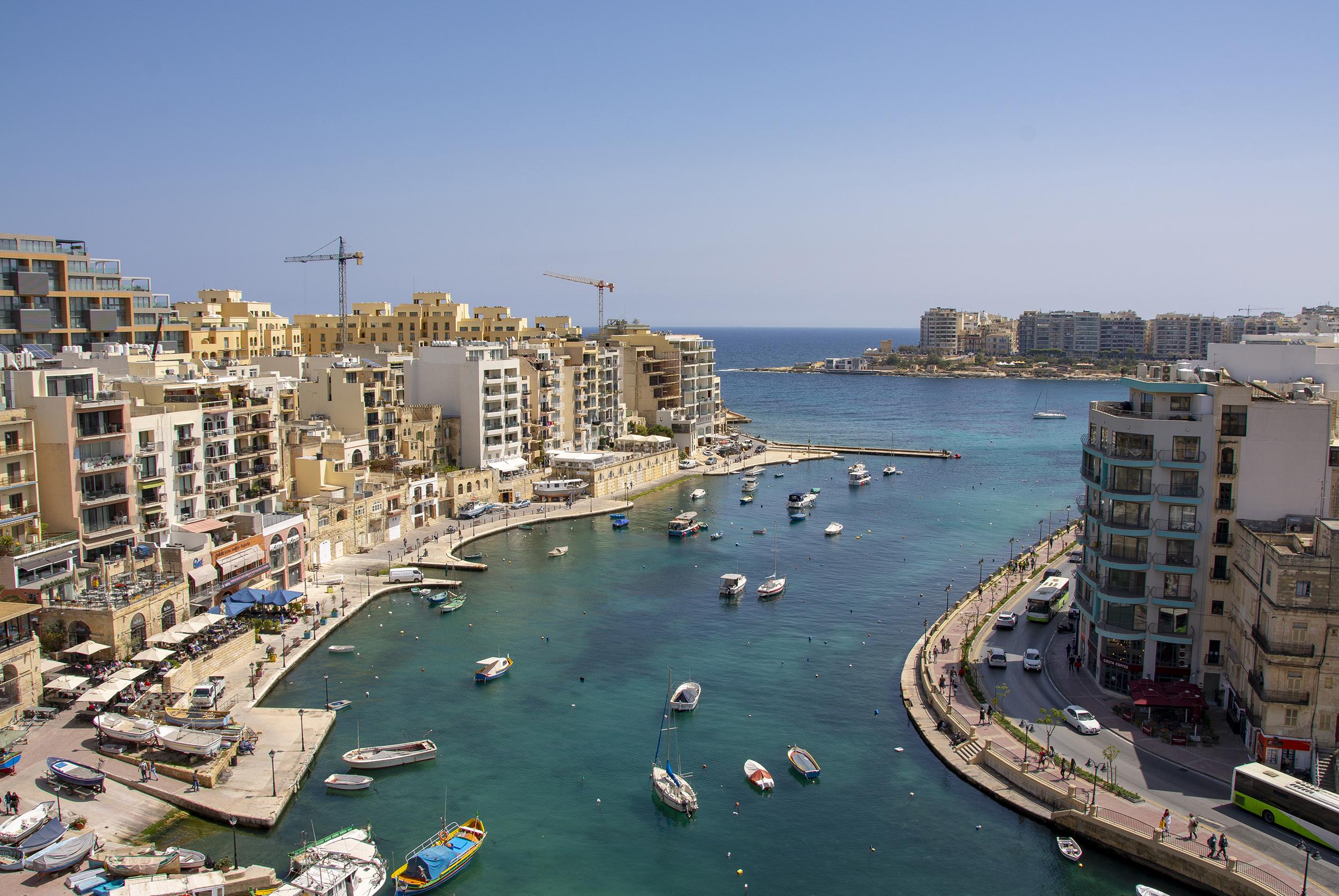 hotel juliani malta utsikt från taket