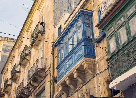 Burspråk i Valletta