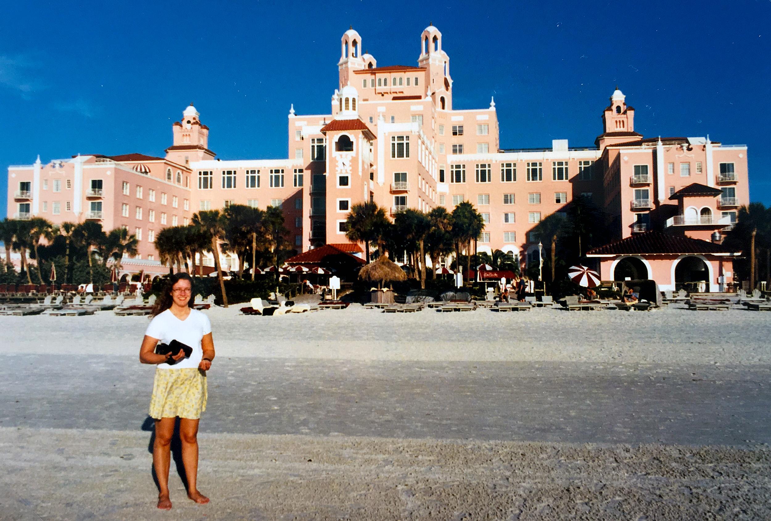 Don CeSar Hotel på St Pete Beach i Florida.