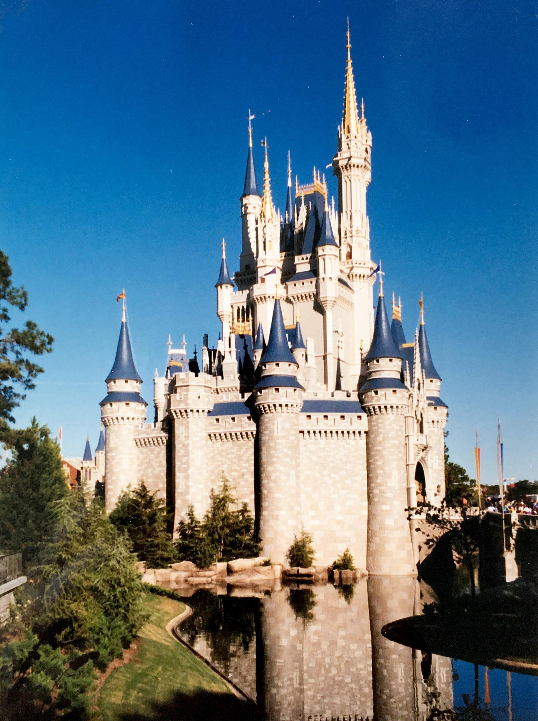 Slottet på Walt Disney World.