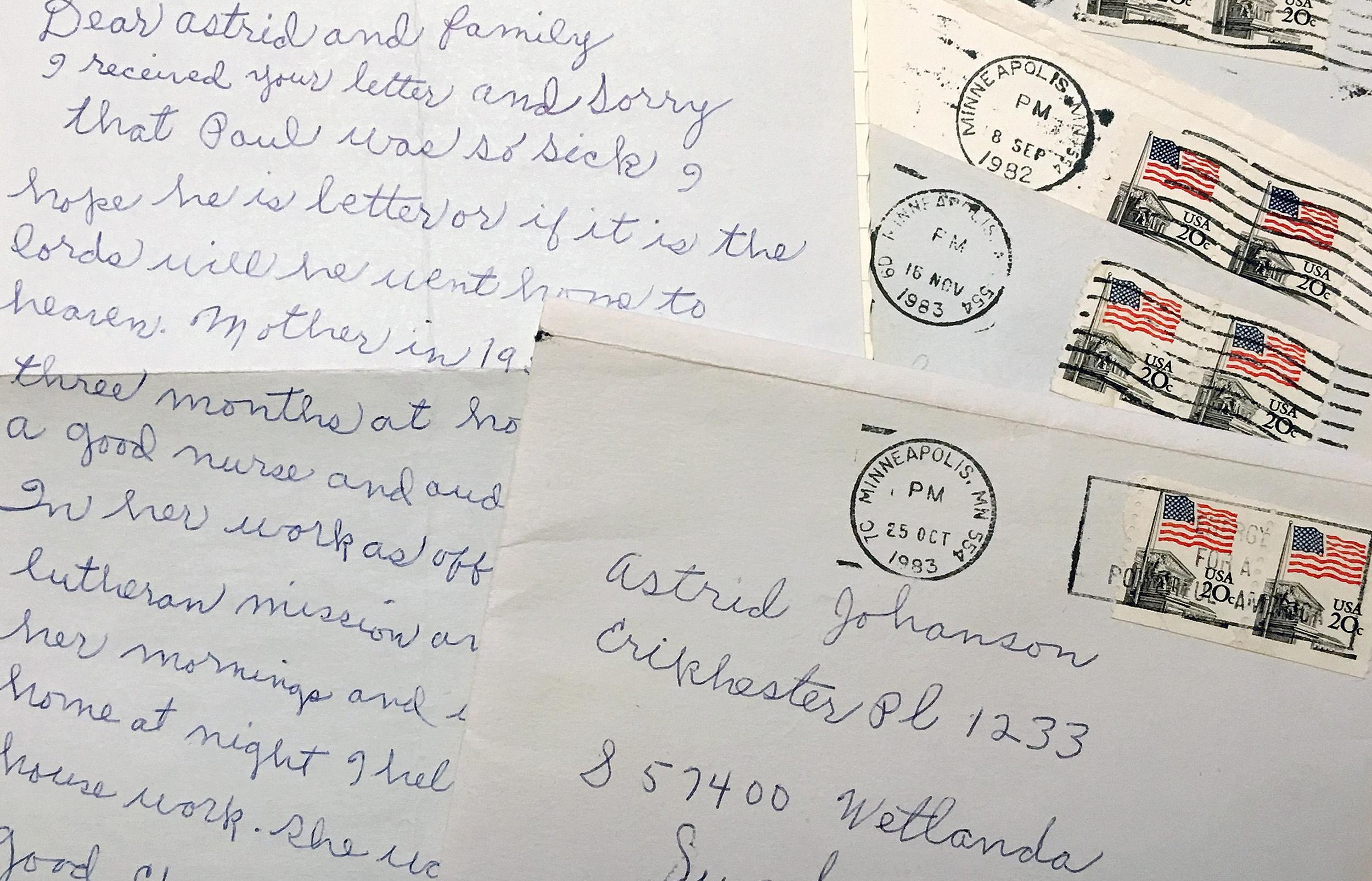 drömmen om amerika brev