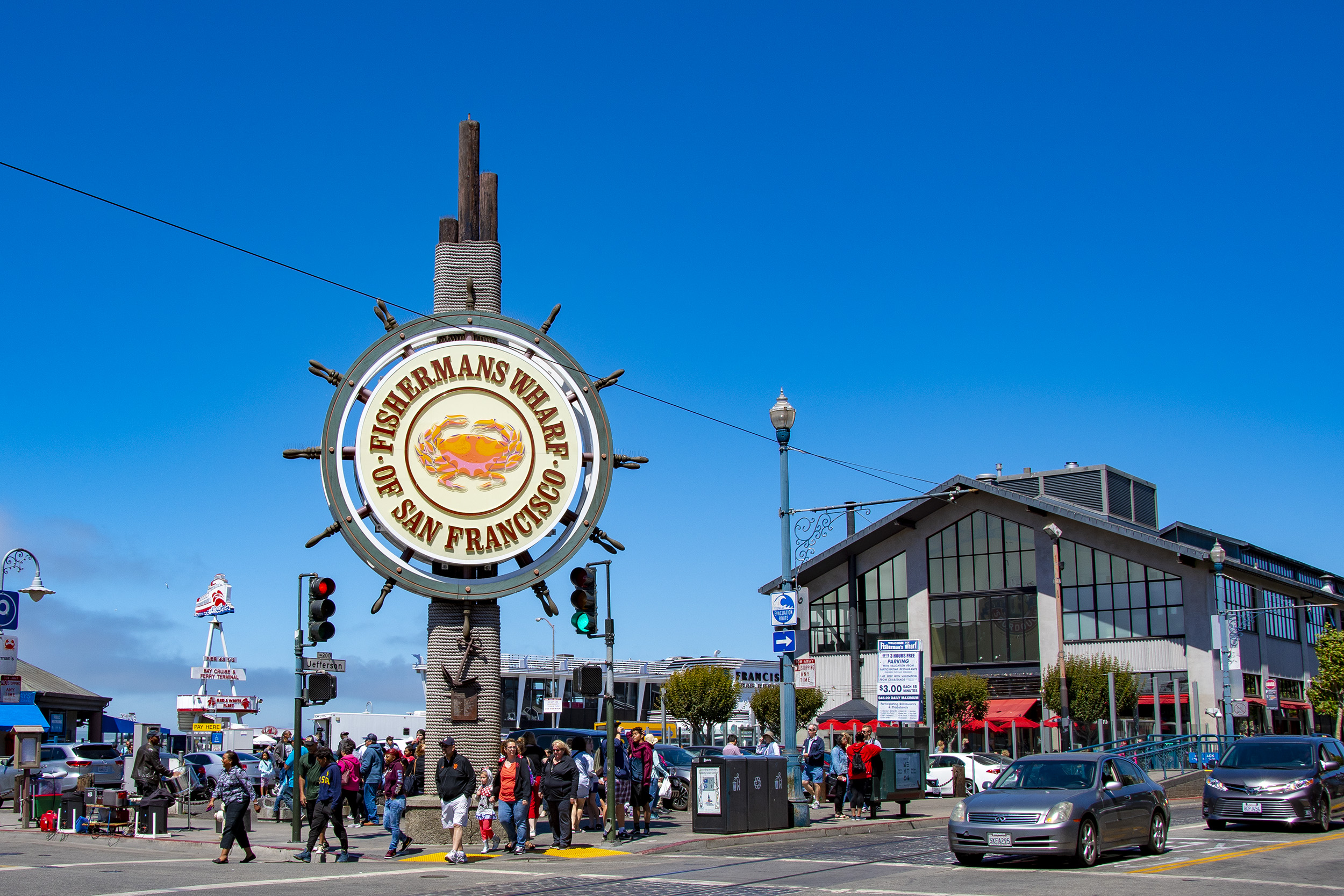 Fisherman's Wharf i San Francisco