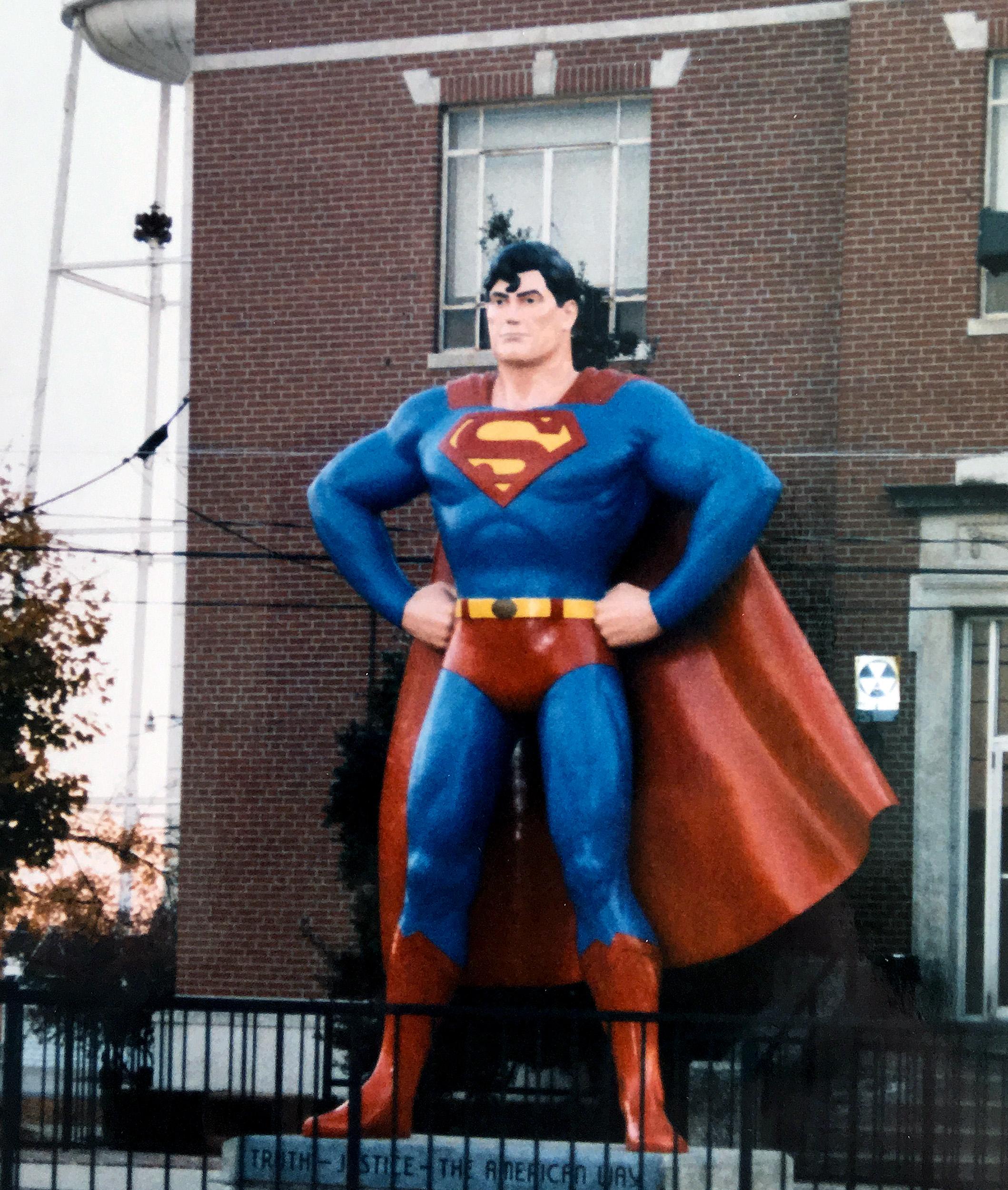 Stålmannen i Metropolis.